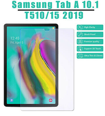 Tempered Glass Screen Protector For Samsung Galaxy Tab A 10.1 2019 SM T510 T515 • 4.24£