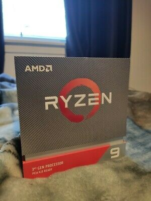 AMD Ryzen 3900X 3.8Ghz 12 Core AM4 Processor With Wraith Prism Cooler • 385£
