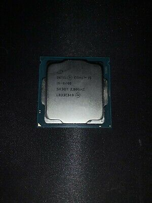Intel Core I5-8400 @ 2.80GHz SR3QT L833E349 • 110£
