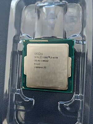 Intel Core I7-4770 - 3.4GHz Quad-Core (CM8064601464303) Processor • 35£