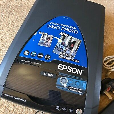 Epson Perfection 3490 PHOTO Flatbed Scanner • 42£