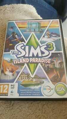 The Sims 3 Limited Edition Island Paradise Expansion Pack PC DVD Rom  • 1.99£