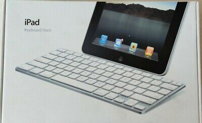 Apple 1st Generation IPad Keyboard Dock IPAD 1 2 AND 3 A1359 Genuine Rare! • 9.99£