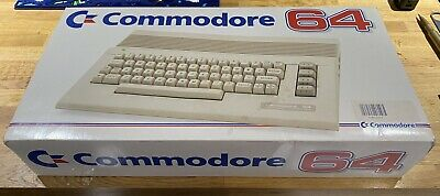 Commodore 64 Computer, Boxed, Tested, With Power Supply And Scart TV Cable • 26.90£
