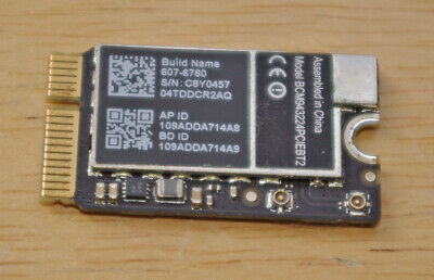 WiFI/Bluetooth Card For MacBook Air 13  A1369 2010, Tested Working  • 13.50£