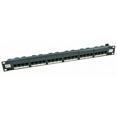 Connectix 009-001-009-07 Cabling Systems Cat6 24 Way Patch Panel CCS Elite • 39.95£