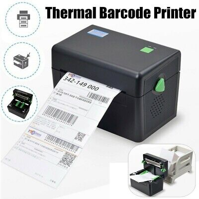 XP-DT108B Portable Direct Thermal Label Barcode 127mm/s High Speed 4x6''Printer╭ • 59.35£