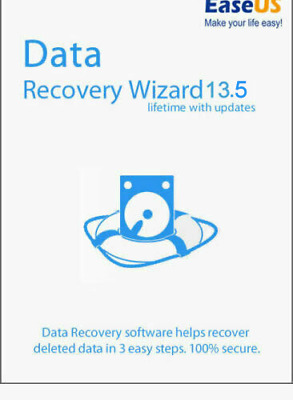 EaseUS Data Recovery Pro 13.5 Lifetime Upgrades | Not Pirated • 15.85£