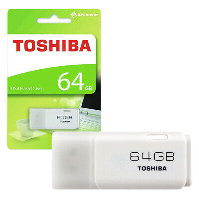 Toshiba 64GB TransMemory U202 USB Flash Drive Storage Memory Stick SEALED PACK • 8.99£