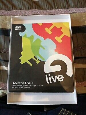 Ableton Live 8 - Software For Mac Or PC • 3£