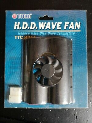 Titan TTC-HD11 Internal 3.5  Hard Disk Drive HDD Cooler Fan Cooling • 4£