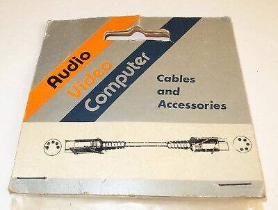 Composite Audio Video Computer Lead In Sealed Packet • 0.99£