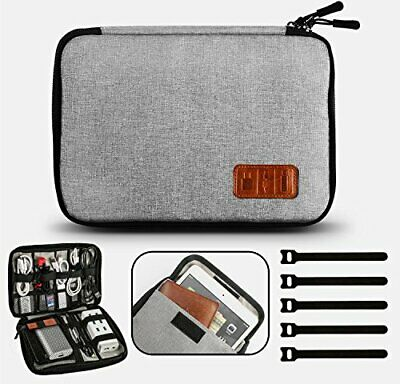Cable Organiser Bag, Travel Electronics Accessories Bag Organiser For • 13.99£