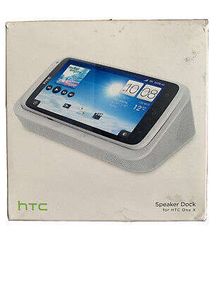 Genuine Htc One X Charger & Speaker Docking Station Cradle Cr S650 Hc C703/c704 • 15£