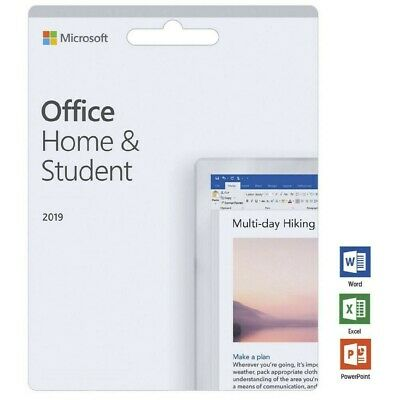 Microsoft Office 2019 Home And Student Lifetime (Windows Only) - Genuine • 27.19£