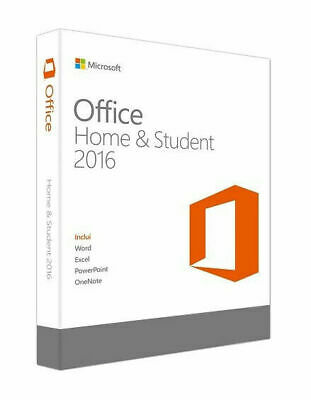 Microsoft Office Home And Student 2016 Lifetime (Windows Only) - Genuine Key! • 24.99£