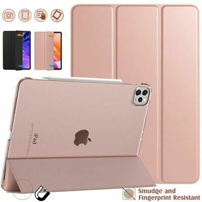 For IPad Pro 11/ 12.9 Inch 2020 2nd Gen Magnetic Leather Stand SMART CASE Cover • 7.59£