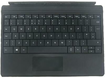 Microsoft Surface 3 Type Cover Touchpad UK QWERTY Keyboard Black 1654 • 24.95£