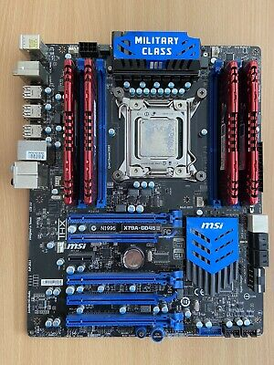 Intel I7 3930k CPU + MSI X79A-GD45 Motherboard + 16GB DDR3-1600 RAM • 140£