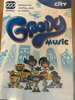 Groovy Music City Software For Teaching Music To Children PC CDROM  • 5.49£
