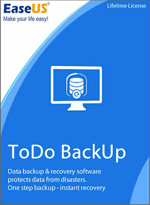 EaseUS Todo Backup Home 13.0 Lnstant Delivery - 1 Year Free Upgrades • 12.50£
