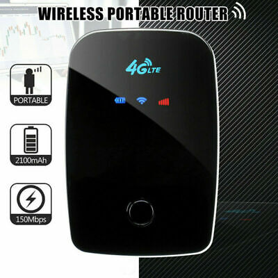 Portable 4G LTE Mobile Broadband Hotspot WIFI Wireless Router SIM Card 150Mbps • 24.59£