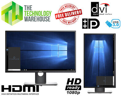 Dell 23  Gaming Monitor FHD Panel - HDMI + USB 3.0 + Height Swivel Adjust P2317H • 69.85£