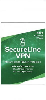 SecureLine VPN 1year Multi-Devices Instant Email Delivery 100% Avast Software • 6£