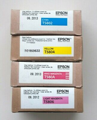 Epson Ink 4 Colours • 65£