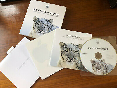 Apple Mac OS X Snow Leopard 10.6 - Boxed And With Original Apple Stickers • 4.90£