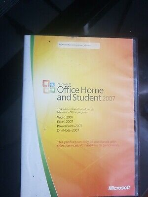 Microsoft Office Home And Student 2007 • 4.50£