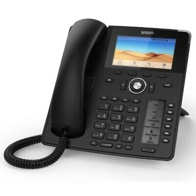 Snom D785 IP Desk Phone VoIP Black New • 150£