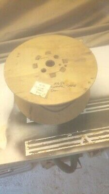 RG59 Coaxial Cable Approx 50m New/Unused Part Roll Old Stock Black Sheath • 15£