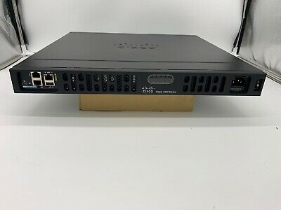 Cisco Isr4331/k9 Router With Rack Ears Next Day Delivery Grade A • 219.99£