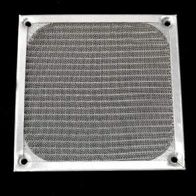 12cm 120mm  Aluminium Chainmail Mesh Filter Protector Cover Guard PC Case Fan • 2.77£