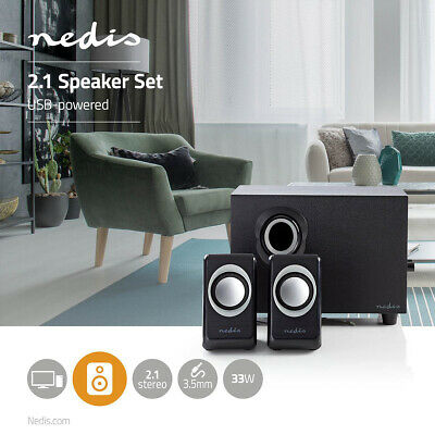 33W PC Speaker With A 3.5mm Jack • 19.99£