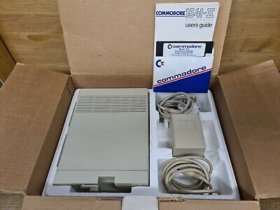 Commodore 1541 II Boxed Disc Drive Fully Tested Including Mains & Serial Cable • 89.99£