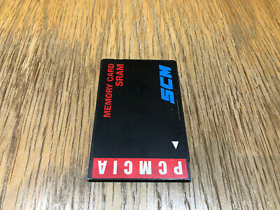 SMC PCMCIA 1MB SRAM Memory Card. PC Card - Tested & Working. • 40£