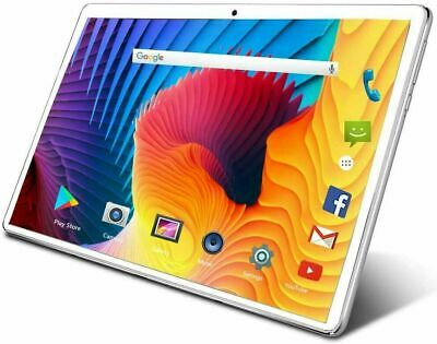 10.1inch WiFi Tablet PC 10Core Android 9.0 Tablet 64GB Bluetooth Dual SIM Camera • 89.99£