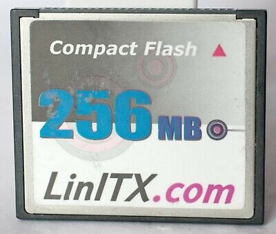 256MB LinITX Compact Flash Card. • 7£