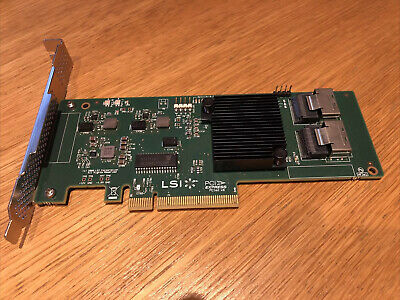 LSI 6Gbps SAS HBA LSI 9200-8i (9211-8I) Ideal For ZFS, FreeNAS, UnRAID • 45£