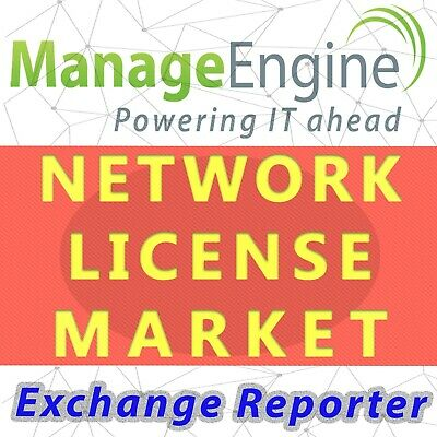 ManageEngine Exchange Reporter License - Permanent,Unlimited,Professional • 427.67£