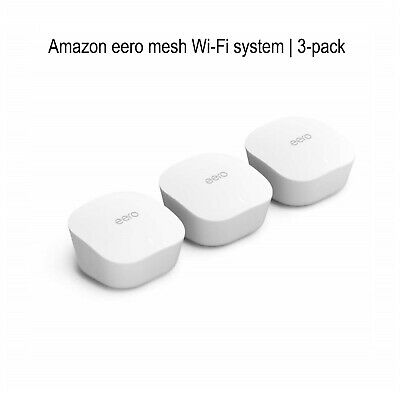 Amazon Eero Mesh Wi-Fi System | 3-pack **BRAND NEW & SEALED IN BOX** • 189.50£