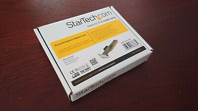 Startech Pci To Pci Express Adapter Card • 21.99£