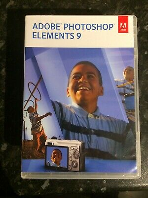 Adobe Photoshop Elements 9 For Mac & PC. • 10£