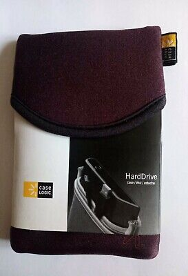 Genuine Case Logic Hard Drive Soft Case In Dark Tones Colour. LHDC-1 • 4£