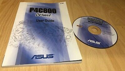 ASUS P4C800 DELUXE Motherboard Drivers Installation Disk And User Guide Manual  • 19.95£
