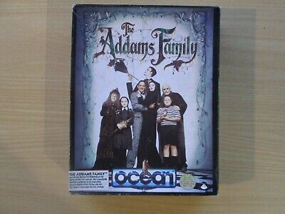 Commodore 64 128 Computer Addams Family Disk Boxed In WO GOC • 29.95£