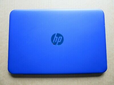 HP Stream 11-r Series Top Lid Rear Screen Cover Blue With Webcam EAY0H00903A • 4.95£