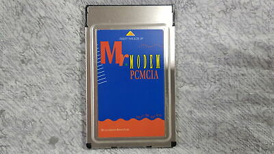 Mr Modem MRI-PCM-56 PCMCIA 56k Fax Modem PC Card ONLY Grade B • 7.99£